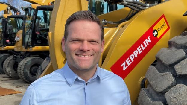 Andreas Davidson har utsetts till ny General Manager för Zeppelin Rental Sverige. Verksamheten står inför en kraftfull expansion.