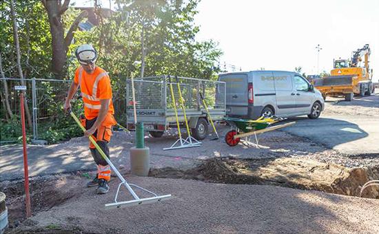 Skaft till asfaltsraka– en nyhet från Hörby Bruk!