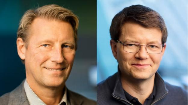 Bygg- och projektledare samt gruppchefer på Forsen, Göran Spansk och Jonas Nordenmalm. Foto: Forsen