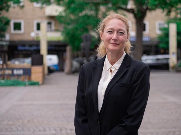 Maria Grimmer började sin karriär på WSP i Falun för över 20 år sedan. För ett år sedan återvände hon och nu tar hon plats i WSPs ledning som affärsområdeschef. Bilden får användas fritt av tredje part i samband med denna artikel.