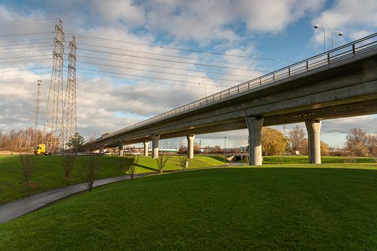 Spillepengens trafikplats nominerad till Trafikverkets arkitekturpris.