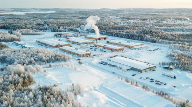 Strömsunds-fabriken.