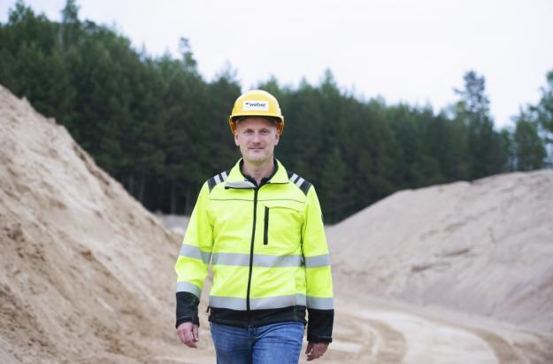 Thomas Flycht R&D Manager på Weber i Vingåker.