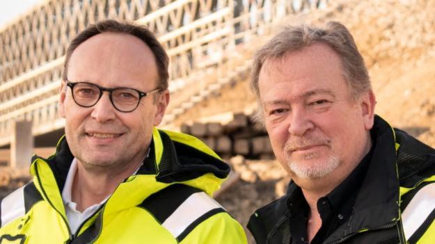 Peter Eriksson och Hans-Erik Kristensson.