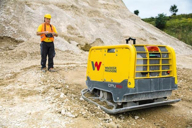 Wacker Neuson har tagit fram ett nytt system som som gör det möjligt att ha kontroll över packningsgrad vid markarbeten även på distans.