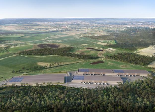 Visionsbild Klinga Logistikpark.