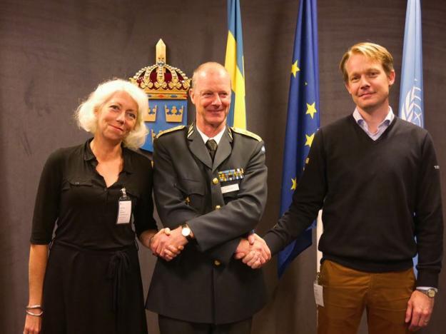 Anita Asklund, Klas Eksell ochJoakim Arndorw.