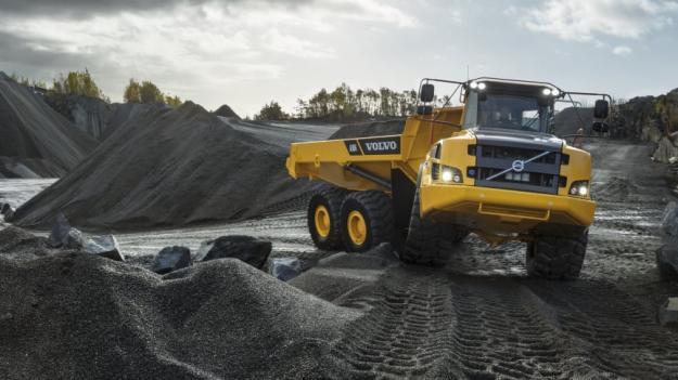 Volvo A30G dumper levereras till Hoffmann Baumaschinen i slutet av 2020.