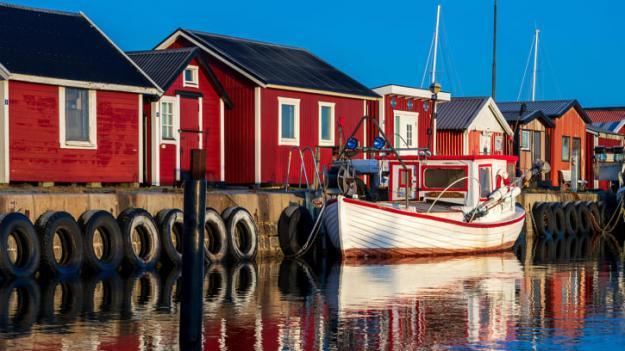 Muddermassor från Gislövs småbåtshamn är förorenade. Svevia tar hand om transport och emot dem på sin efterbehandlingsanläggning i Ystad.