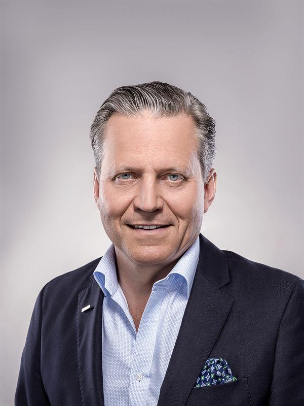 Berth Larsson, regionchef på Peab.