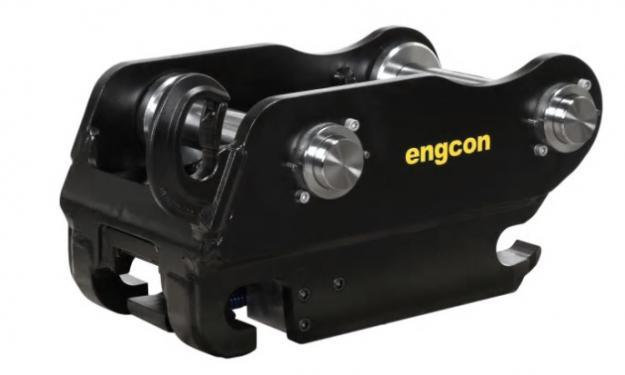 Engcon övergår helt till sitt egenutvecklade och säkra redskapsfäste Q-Safe