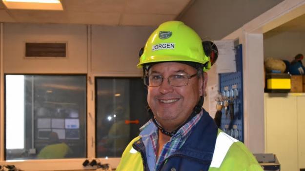 Jörgen Staflund, tillträdande fabrikschef Cementa Skövde.