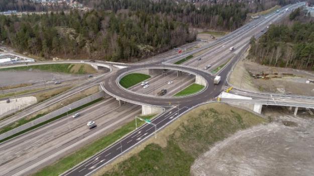 Trafikplats Vega i Haninge.