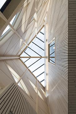 Angereds resecentrum, nominerad till Trafikverkets arkitekturpris.