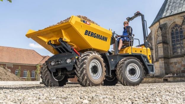 Bergmann C805s, en ny kompaktdumper från Bergmann.