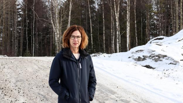 Christin Davidsson ärny säkerhetschef på Delete i Sverige.