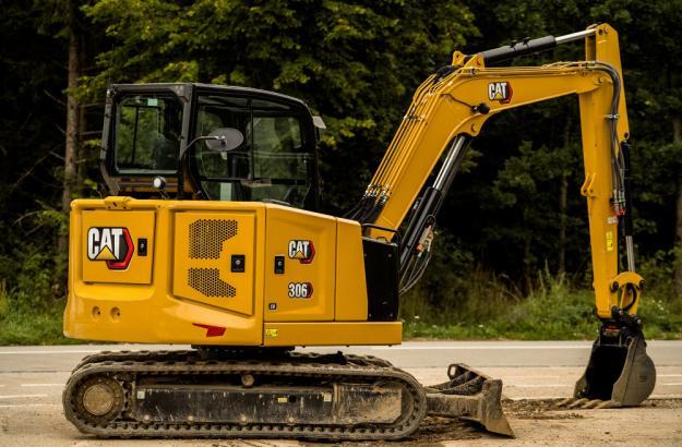 Cat 306, Next Generation - minigrävare.