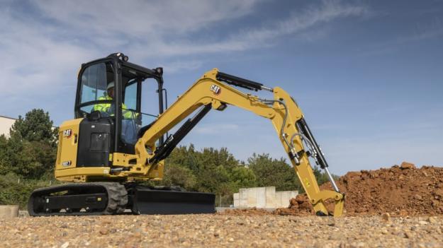 Cat 303 CR Next generation i arbete.