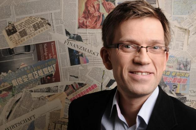 Mattias Goldmann, Swecos hållbarhetschef.